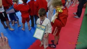Маленькие самбисты из Куркино победили в городском турнире «Время быть сильным»