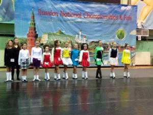 Чемпионат России по ирландским танцам