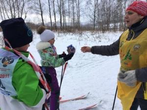 Новогодняя лыжная эстафета «Зимние забавы»
